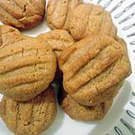 recette Sablés au beurre de cacahuètes