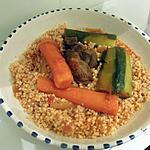 recette Mhamsa au boeuf - façon couscous