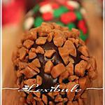 recette Boules irrésistibles au chocolat