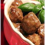 recette Ragoût de boulettes