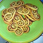 recette Palmiers aux olives et Bacon