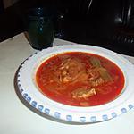 recette Plat tunisien aux pois chiches: sauce Mermes
