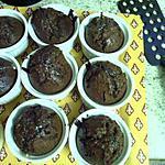 recette fondant aux chocolat coeur coulant