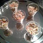 recette Verrines océanes (apéro chic de noël)