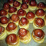 recette Mini bouchées crème-knacki ball (apéro express)