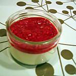 recette Panna Cotta à l'agar agar