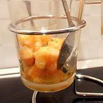 recette verrine crevette-fruit de la passion (apéro de noël)