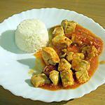 recette escalopes de poulet à l'indienne