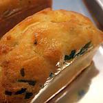 recette petits cakes roquefort-pistache (apéro de noël)