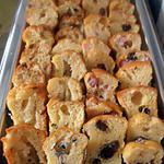 plateau apéritif de minis cakes (apéro de noël)