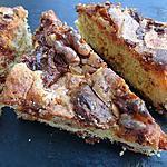 recette triangles aux deux chocolats caramel et guimauves