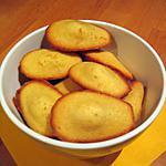 recette Madeleines à l'orange