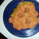 recette Spaghettis à la tunisienne