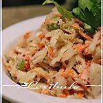 recette ~Salade de chou crémeuse~