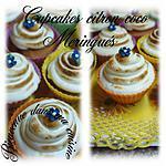 recette cupcakes citron coco meringués
