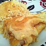 Filet de colin sauce à la créme au miel et citron
