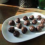 recette Truffes aux raisins secs