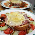 recette Croûte jambon-fromage