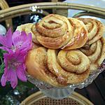 recette Kanelbullard - Brioches roulées à la cannelle