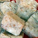recette bouchées choco blanc-pralin