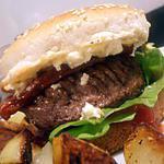 hamburger à la grecque