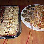 recette feuilletés chorizo,  boudin,   champignons  farcis;   avec une recette de choupette two