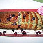recette Cake d'automne aux cranberries