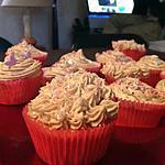 recette Cupcake glaçage au spéculos