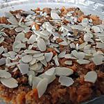 recette Gajjar Halva (entremets indien à la carotte et à la cardamome)