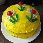 recette Symphonie à l'orange (gâteau anglais)