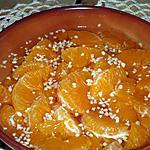 recette salade de clémentines aux noix