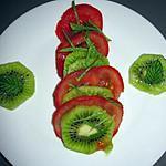 recette Salade de tomates et de Kiwis