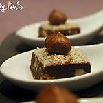 """recette """"Slim Fudge"""" deux chocolats, aux noix de Pecan et noisettes"""