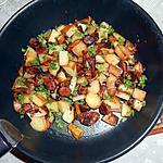 recette Pommes de terre sautées forestière