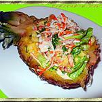 recette Ananas créole aux fruits de mer