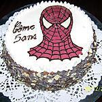 recette Gâteau d'anniversaire spiderman