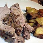 recette Filet mignon de porc farcit aux girolles et aux lardons