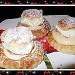 recette Tartelettes crème mousseline aux clémentines