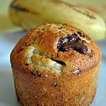 recette Muffins aux bananes et pépites de chocolat