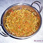 recette Curry d'haricots plats