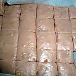 recette FUDGE AU CHOCOLAT BLANC, CACAHUETES ET MARSHMALLOW.