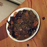 recette coeur de    veau  carottes pruneaux