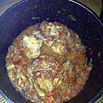 recette Fricassée de poulet de Guylaine (diner presque parfait), revue à ma façon
