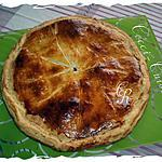 recette Galette des Rois Choco-Framboises