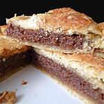 recette Galette des rois frangipane au chocolat