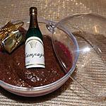 recette Mousse au chocolat extra sur coulis de framboises