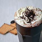 chocolat-chantilly : recette Chocolat Chaud  : Hot Chocolate & Vanilla sky