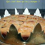 recette Galette des rois (sans gluten et sans lactose)