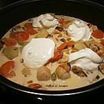 recette Blanquette de fruits de mer