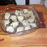 recette champignons au poulet ,,